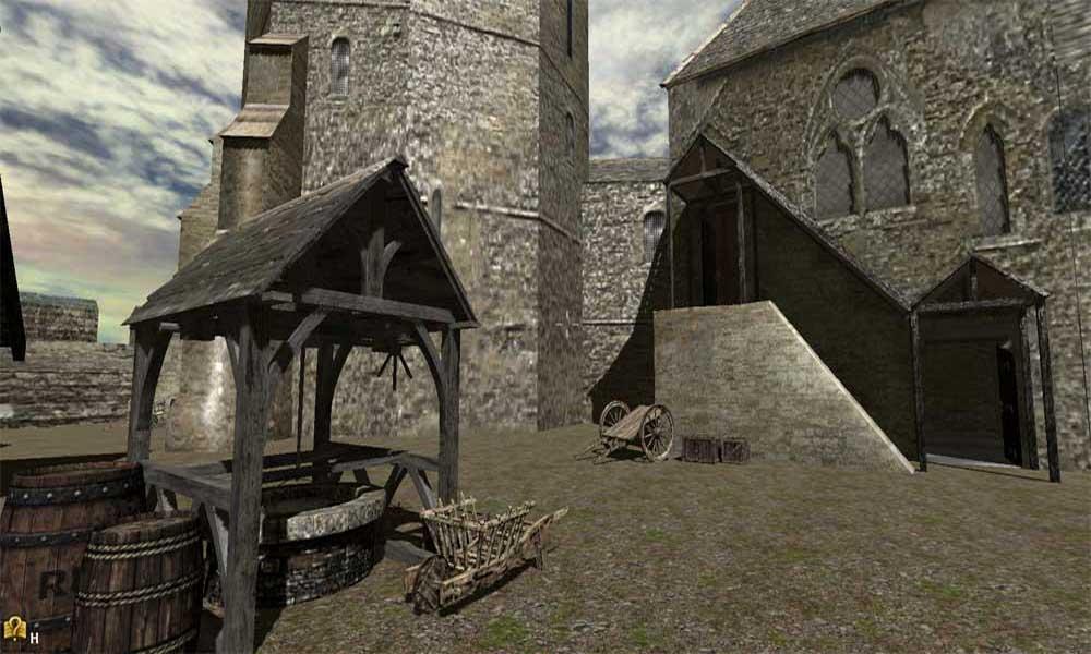 Virtual Tour Of Middleham Castle