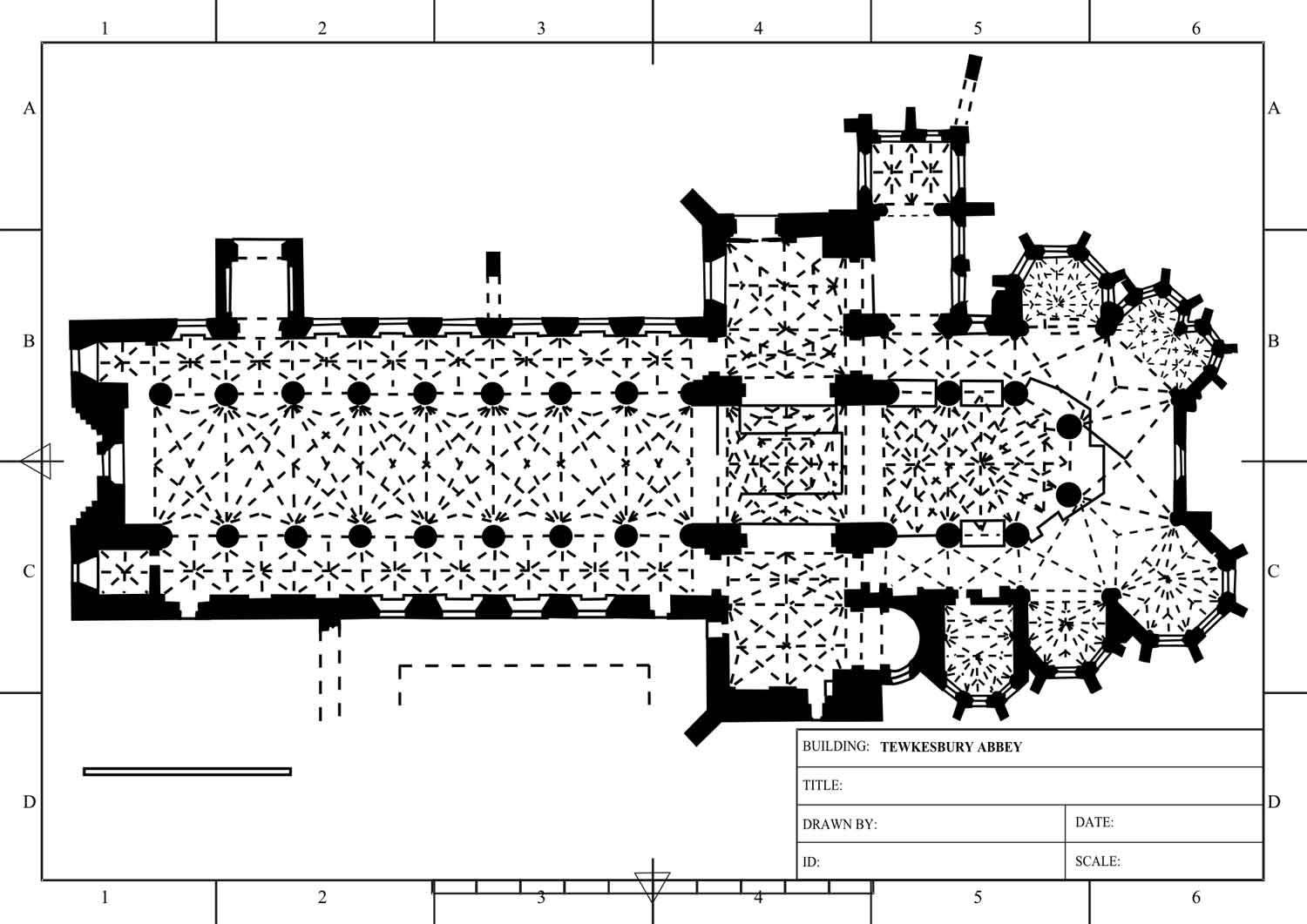 Bury tower house floor plan - Medieval And Middle Ages History Timelines Tewkesbury Abbey