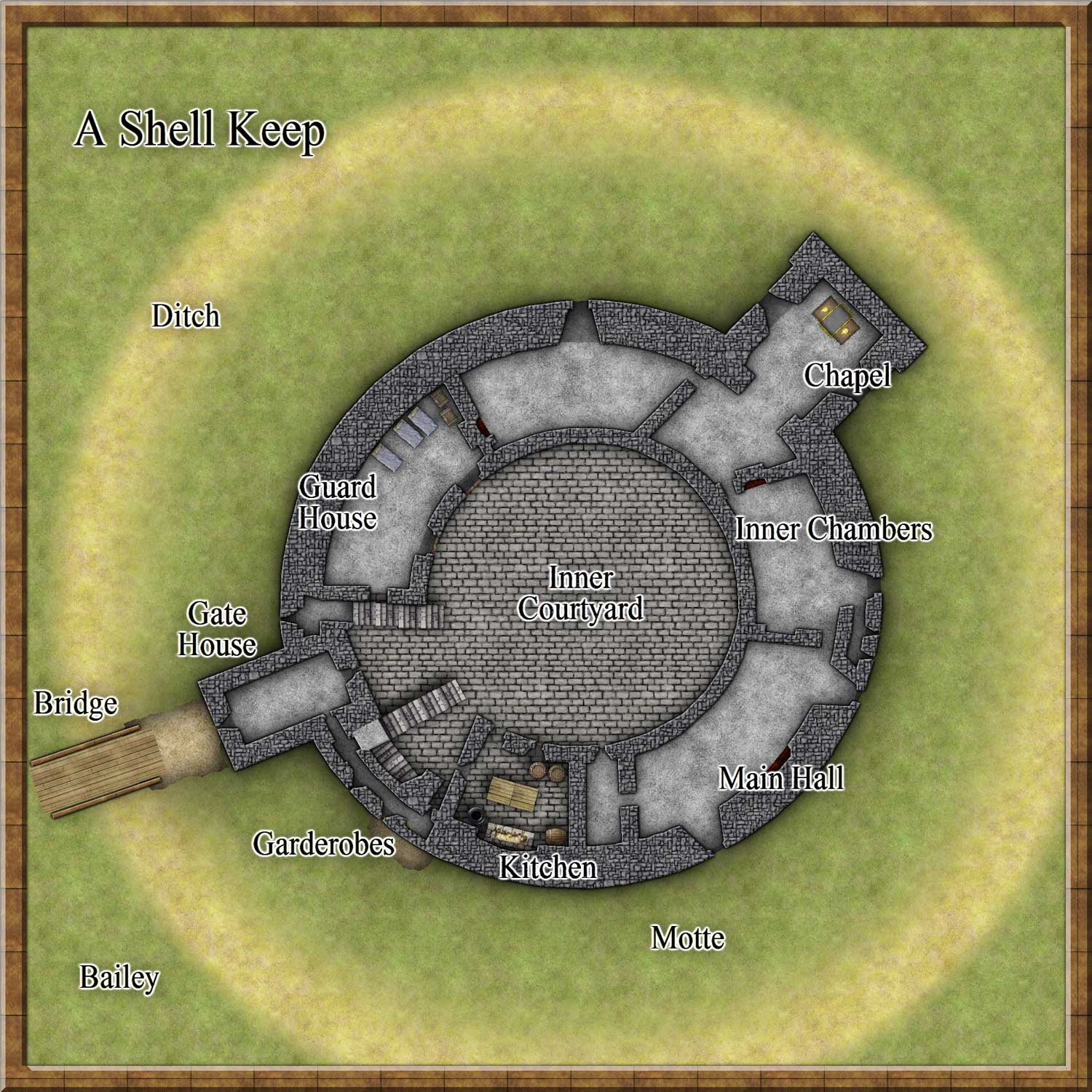 Medieval_castle_shell_keeps on Medieval Tower House Floor Plan