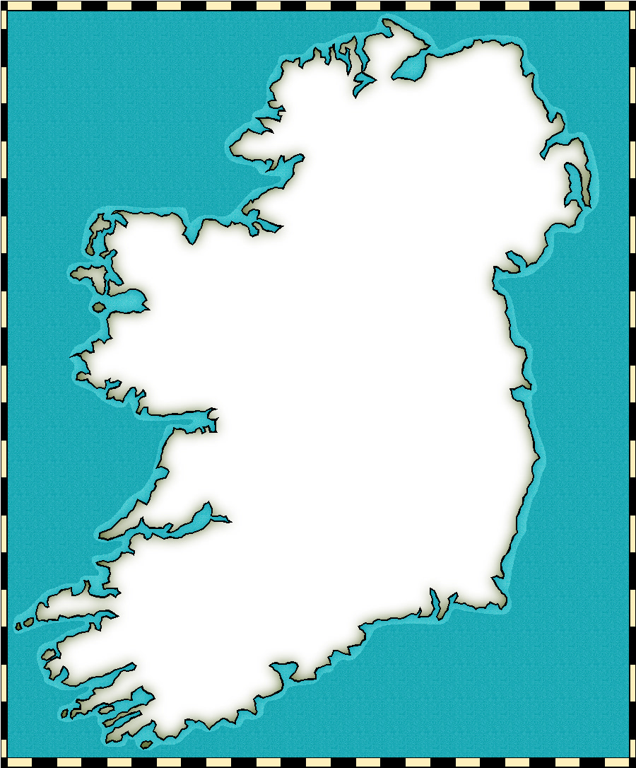 Empty Map Of Ireland.Medieval And Middle Ages History Timelines Medieval Maps